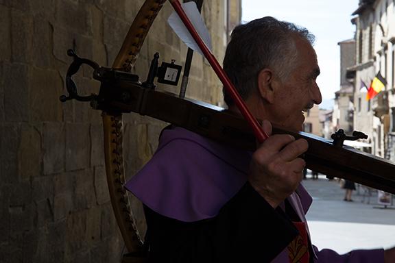 balestriere balestra dardo piazza torre di berta Sansepolcro Arezzo