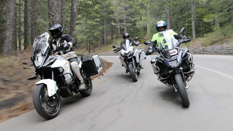 viaggi di gruppo in motocicletta alla sulle strade Toscane