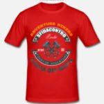 Maglietta Aderente Uomo Rossa Front